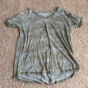 american eagle camo oversized t-shirt
